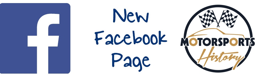 New Facebook Page for MotorsportsHistory!